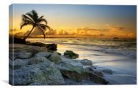 Punta Cana sunset, Canvas Print