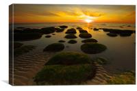 Sunset Hunstanton 2, Canvas Print