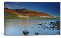 Loch Lochy view, Canvas Print