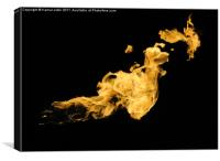 inferno, Canvas Print
