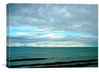 The North Sea From St Andrews, Canvas Print