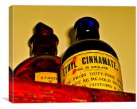 Ethyl Cinnamate, Canvas Print