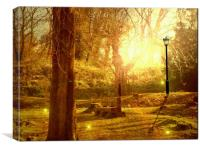 Springtime in Narnia., Canvas Print