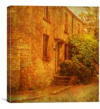 A Place in the Country., Canvas Print