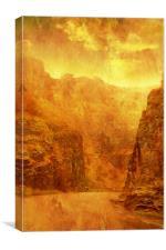 Scorching Gorge., Canvas Print