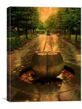 Park Sculpture., Canvas Print