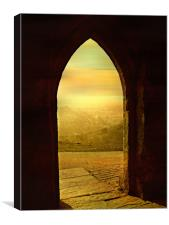 North West View., Canvas Print