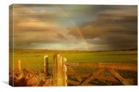 Rainbow's End., Canvas Print