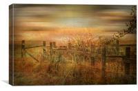 Autumn Mist., Canvas Print