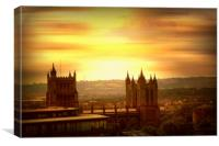 Bristol Skyline. , Canvas Print