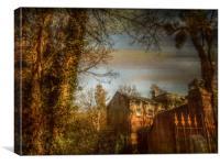 Brewhouse, Kings Weston, Shirehampton., Canvas Print