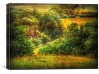 The Village., Canvas Print