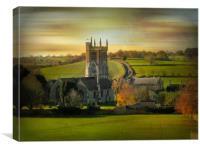 Norton St. Philip., Canvas Print