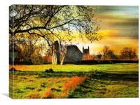 Avebury, Wiltshire., Canvas Print