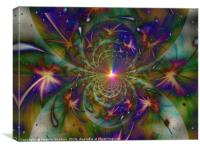 Starlight Explosion., Canvas Print