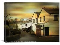 Old Custom's Houses - Bristol., Canvas Print