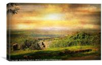 Wooky Lookout., Canvas Print