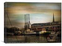 Dockside History., Canvas Print
