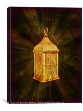The Golden Lantern, Canvas Print