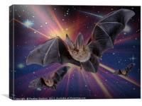 Bat Express., Canvas Print