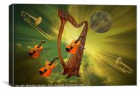 Universal Symphony., Canvas Print