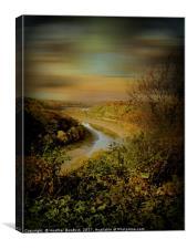 Avon Gorge Bristol., Canvas Print
