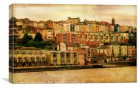 Bristol's Baltic Wharf., Canvas Print
