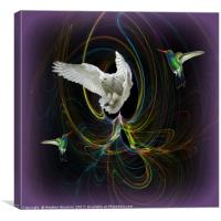 The White Owl, Canvas Print