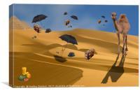 Sahara Holiday, Canvas Print