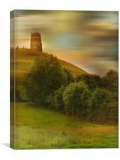 Glastonbury Tor., Canvas Print