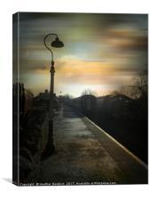 Bitton Railway Station, Somerset., Canvas Print