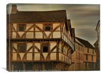 King John's Hunting Lodge, Canvas Print