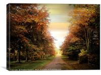 Autumn Exposure, Canvas Print