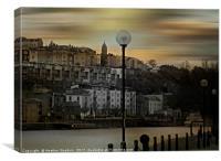 Bristol Harbour Side, Canvas Print