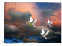 The Power of Peace, Canvas Print