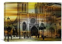 Bristol Cathedral, Canvas Print