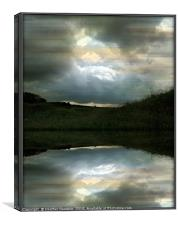 Every Cloud has a Silver Lining 2, Canvas Print