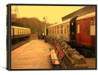 Bitton Railway Station., Canvas Print