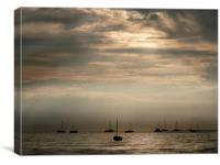 Boats, Canvas Print