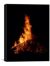 Fire, Canvas Print