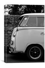 VW Camper, Canvas Print