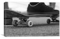 Skateboard, Canvas Print