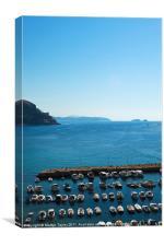 Dubrovnik Blues, Canvas Print