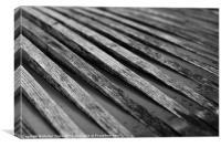 Bench, Canvas Print