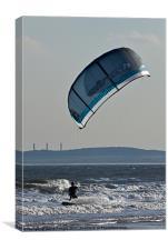 Kite Surfer III, Canvas Print