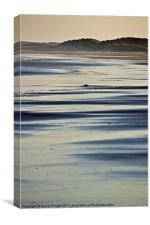 Beach Patterns, Canvas Print