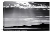 Rays of Light, Canvas Print