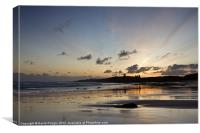 Embleton Bay Sunrise, Canvas Print