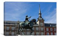 Plaza Mayor I, Canvas Print