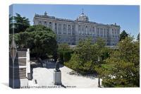 Palacio Real I, Canvas Print